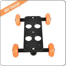 Mini Desktop Rail Automotive Desk Dolly Automotive Video Slider Observe  Picture Studio Equipment  F5D2 60D 550D