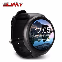 Slimy Smart Watch Ram 1GB/Rom 16GB New MTK6580 Wearable Devices Bluetooth Watchphone Android 5.1 3G Smartwatch for IOS Android