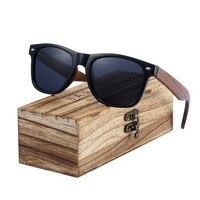 8fffb0dd2 BARCUR 2019 Black Walnut Sunglasses Wood Polarized Sunglasses Men Glasses  Men UV400 Protection Eyewear Wooden Original