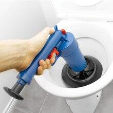 Hava tahliye Blaster yüksek basınçlı pompa temizleyici Unclogs tuvalet kanalizasyon temizleme fırçası mutfak banyo enerjili piston sökücü aracı