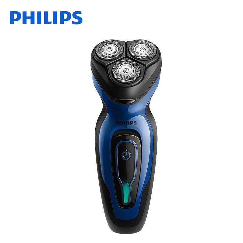 Philips Electric Shaver YQ6008 Rotary Rechargeable 100-240V Triple Blade Rotate Face Beard Electric Razor For Men