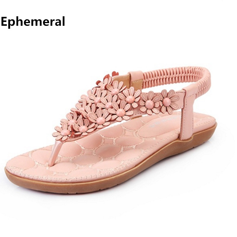 Soft Pink Flat Shoes