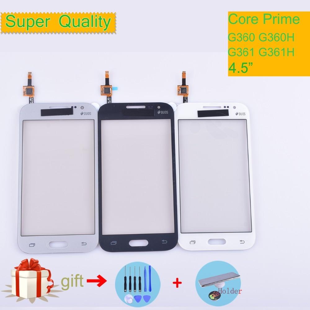 For Samsung Galaxy Core Prime G360 G360H G3608 G361 G361F G361H Touch Screen Panel Sensor Digitizer Front Glass Lens Touchscreen