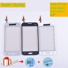 For Samsung Galaxy Core Prime G360 G360H G3608 G361 G361F G361H Touch Screen Panel Sensor Digitizer Front Glass Lens Touchscreen цена 2017