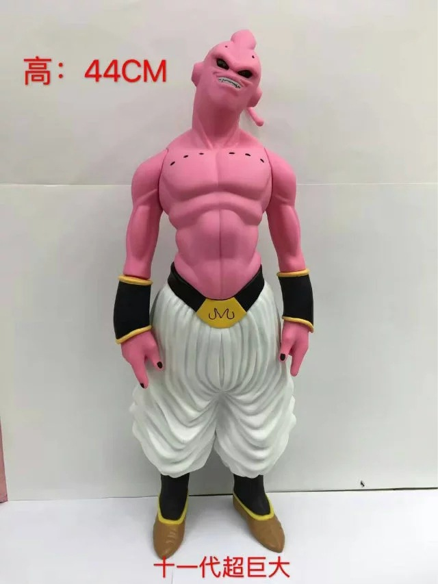 Free Shipping 17 Dragon Ball Anime Big Ver. 11th Buu Boxed 44cm PVC Action Figure Collection Model Doll Toy Gift naruto kakashi hatake action figure sharingan ver kakashi doll pvc action figure collectible model toy 30cm kt3510