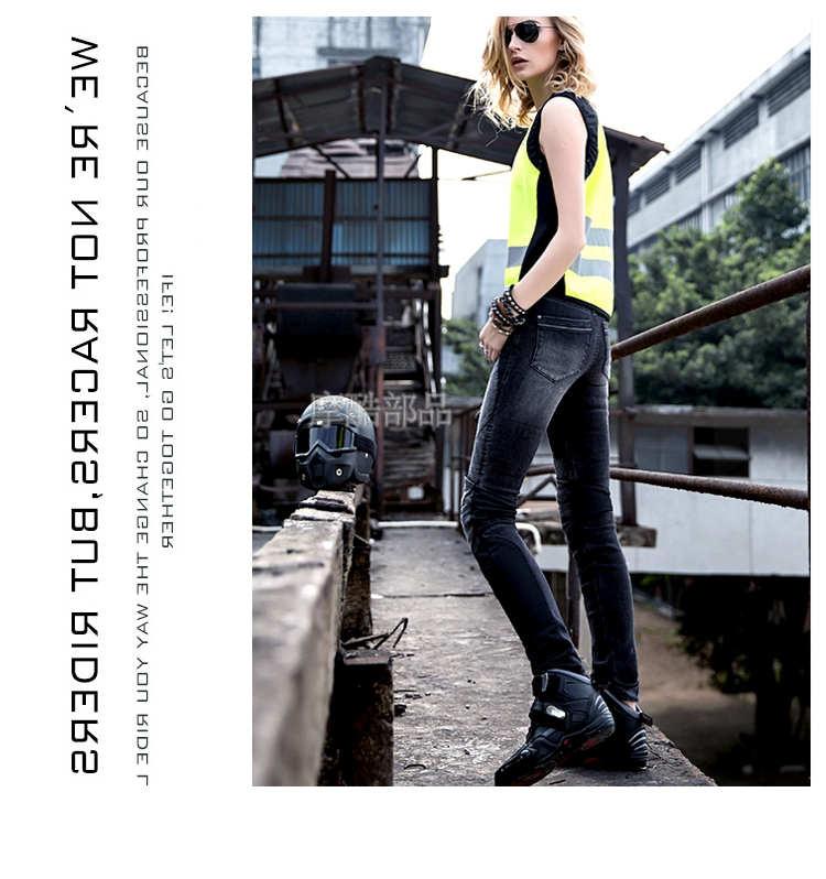 ФОТО uglyBROS JUKE jeans / summer mesh riding pants / lady jeans / Slim motorcycle jeans