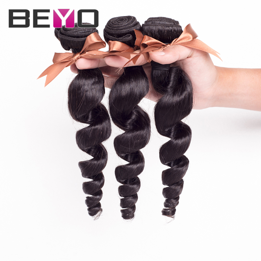Best Brazilian Loose Wave 8A Brazilian Virgin Hair Loose Wave 10-26 inch Mink Brazilian Hair Bundles Soft Human Hair Extensions