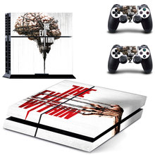 Skin Sticker Decal Cover The evil within for Sony PS4 PlayStation 4 Console and 2 controller skins