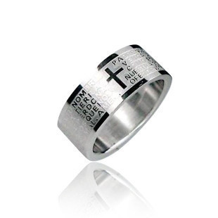 ringe RINGS Jewelry For Men Women Titanium steel New cross crown Roman numerals crown Roman numerals silver ring finger