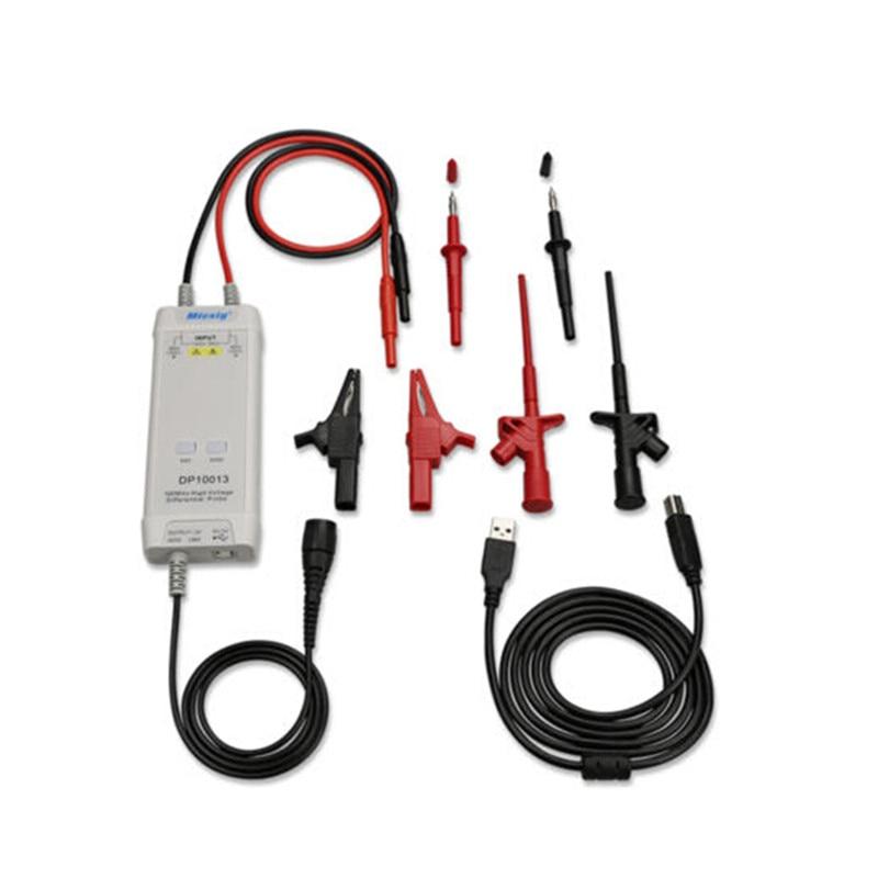 Micsig Sonde D'oscilloscope Accessoires Pièces 1300 v 100 mhz Haute Tension Sonde Différentielle kit 3.5ns Temps de Montée