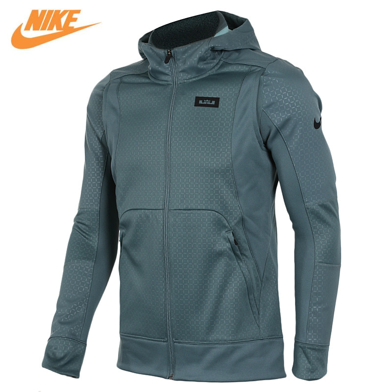 Nike Men's Kobe Blazer Sport Knit Breathable Jacket Hooded Coat Grey Green 824394-392 nike рюкзак kobe mamba xi backpack