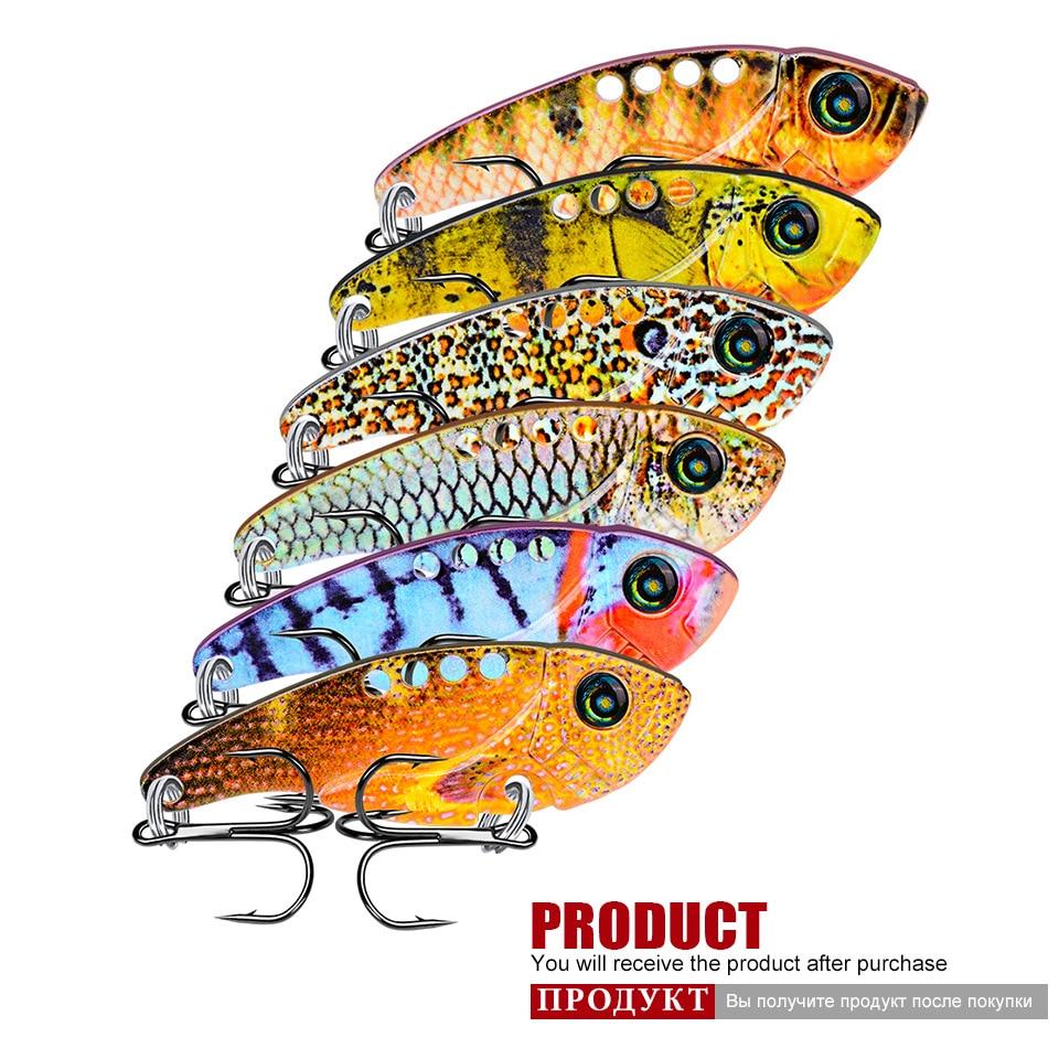 Mini VIB Lures Metal Hard Crankbait 11g 54mm Bass Trout Swimbait Chatter Bait Fishing Tackle