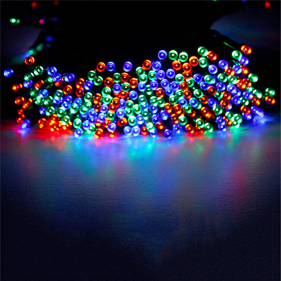 40M 400LEDs Solar Powered Led Garden Lights Fairy String Light Waterproof Decorative Christmas Outdoor Garden Lamps solar powered 0 64w 10lm 200 led blue light garden christmas party string fairy light blue 20 5m