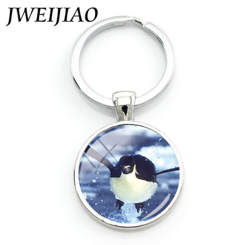 JWEIJIAO Animal Keychain The season 2 The Bule Planet Documentary Largest Shark,Blue Whale,Turtle Keyring Key Chain OC29 image