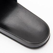 ASIFN Men Slipper Casual Black And White Shoes Non-slip Slides Bathroom Summer Sandals Soft Sole Flip Flops Man