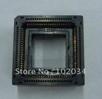 100% nuevo IC120 0844 303 zócalo de prueba de circuito integrado PLCC84/Adaptador de programador/IC120 0844 de toma de encendido|socket adapter|socket connector|socket card -