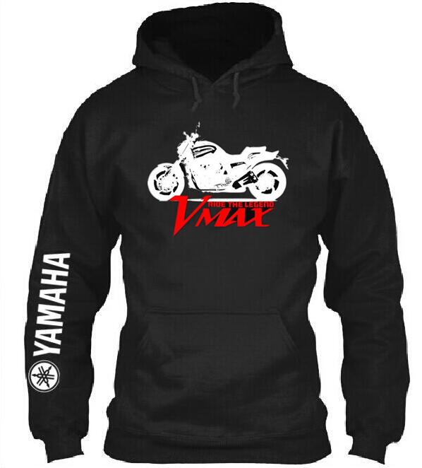 2019 New Brand Top Yamaha Vmax Hoodie Motorcycle Clothing Knight Pullover Suzuki Mens Sportwear Coat Casual Hoodie Factories And Mines Hoodies & Sweatshirts
