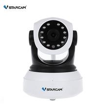 VStarcam Беспроводной безопасности IP Камера WIFI ИК-Ночное видение аудио Запись наблюдения сети Крытый Видеоняни и радионяни C7824WIP