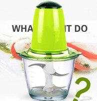 Meat Grinders home electric mini grinder winch machine vegetable crusher pepper mixer garlic puree NEW