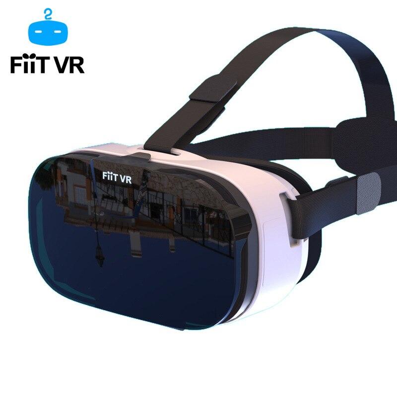 New Fiit 2n Virtual Reality Smartphone Vr 3d Glasses Google Cardboard Video Game Model Vr Headset Box For 4 6 5 Smart Phone 3d Glasses Virtual Reality Glasses Aliexpress