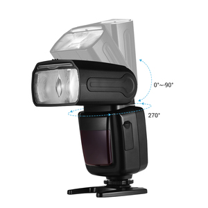 Image 5 - for Canon Nikon Sony Olympus Pentax DSLR Camera Universal Wireless Camera Flash Light Camera Speedlite GN33 LCD with Mini Stand