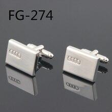 Модные запонки: высококачественные запонки для мужчин запонки с логотипом автомобилей FG-274