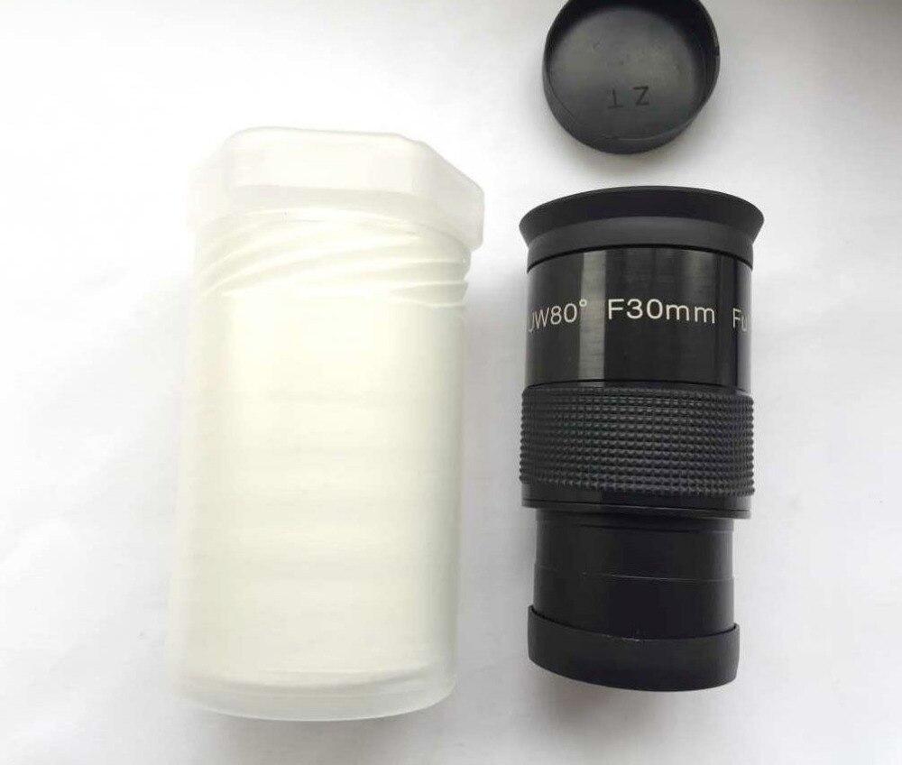 """Полностью многослойный """" F30mm Untra-Wide 80 градусов окуляр для телескопа"""