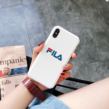 FILA Phone Case for iPhone 6 6S Plus 7 7 Plus 8 X XR XS Max