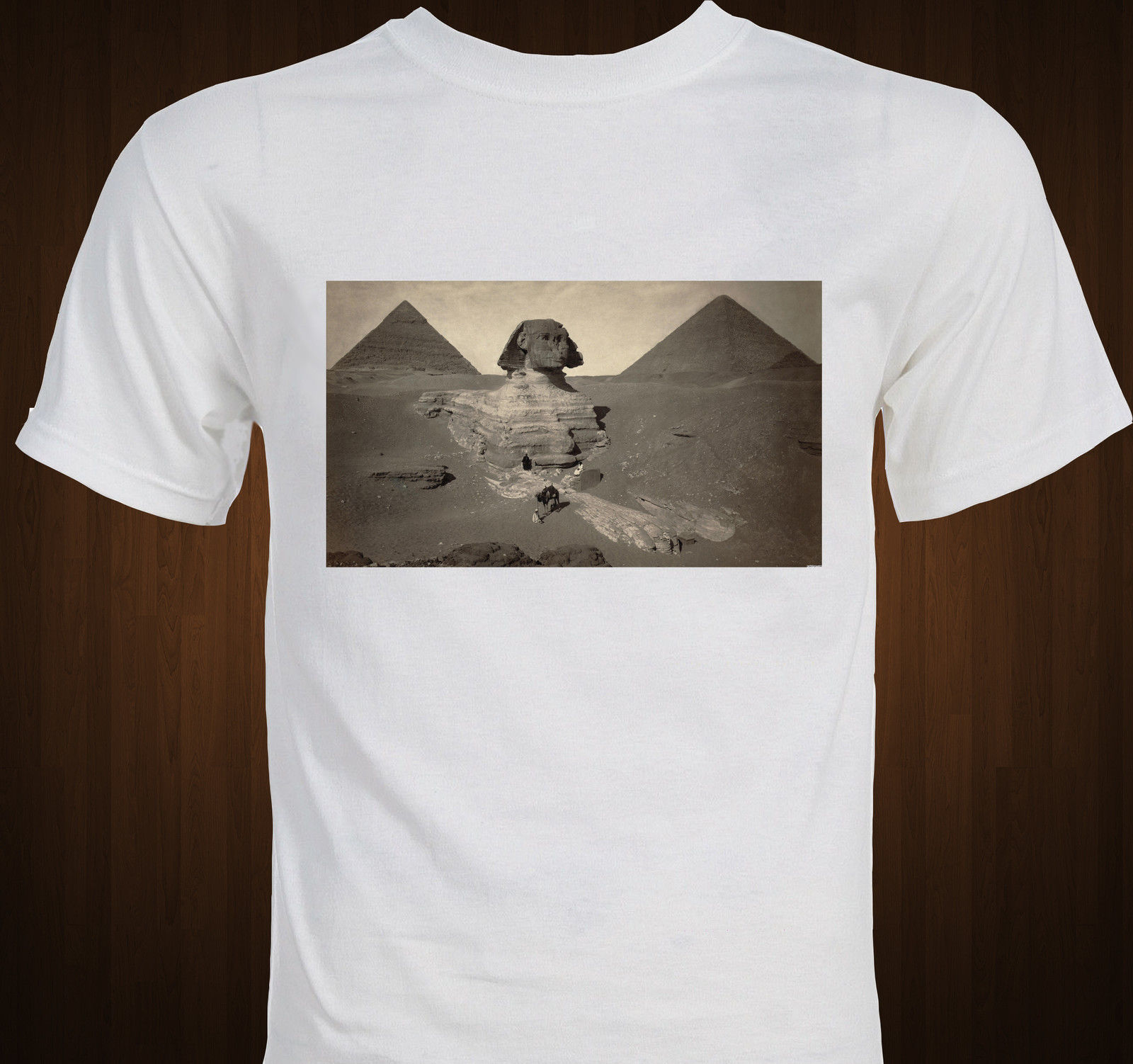 Ancient Egypt Pyramids Giza Sphinx new age spiritual 2012 aliens T-shirt Short Sleeve Cotton T Shirts Man Clothing