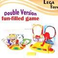 Doble Versión Lleno Bordo Del Cohete Party Fun Game Face juguetes, Shocker Artilugios Divertidos Padres Niños Juegos de Mesa pelota Anti-Estrés Regalos de la mordaza
