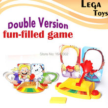 Double Version Filled Rocket Board Party Fun Face Game toys,Shocker Funny Gadgets Parent Kids Board Games Anti Stress Gag Gifts