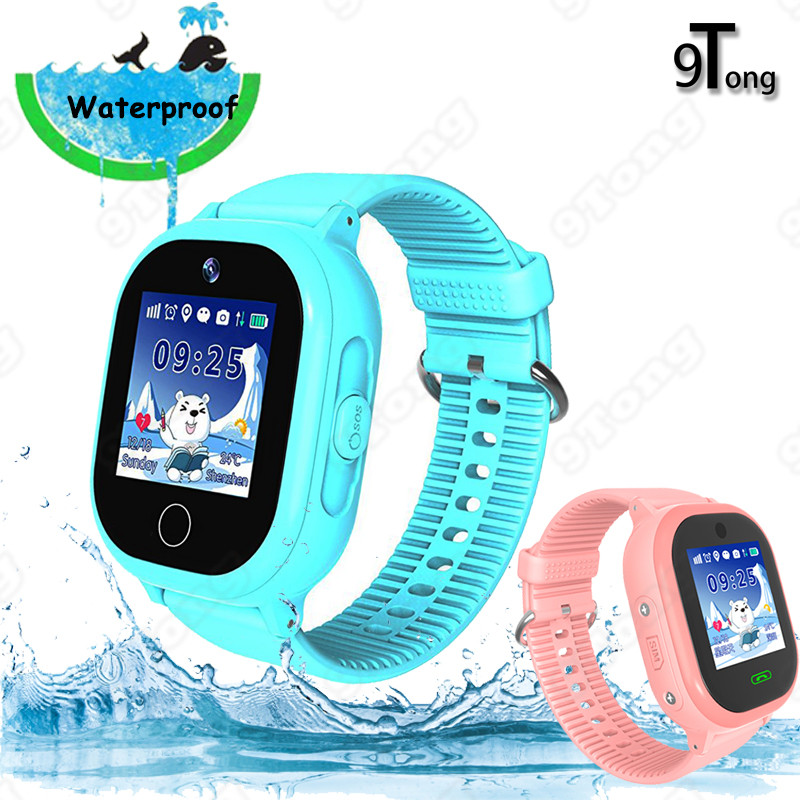 Newest Swimming Kids Smart Watch GPS Tracker Watch Phone for Children with SOS Call Camera Touch Screen Game Smartwatch Kids C0 ...