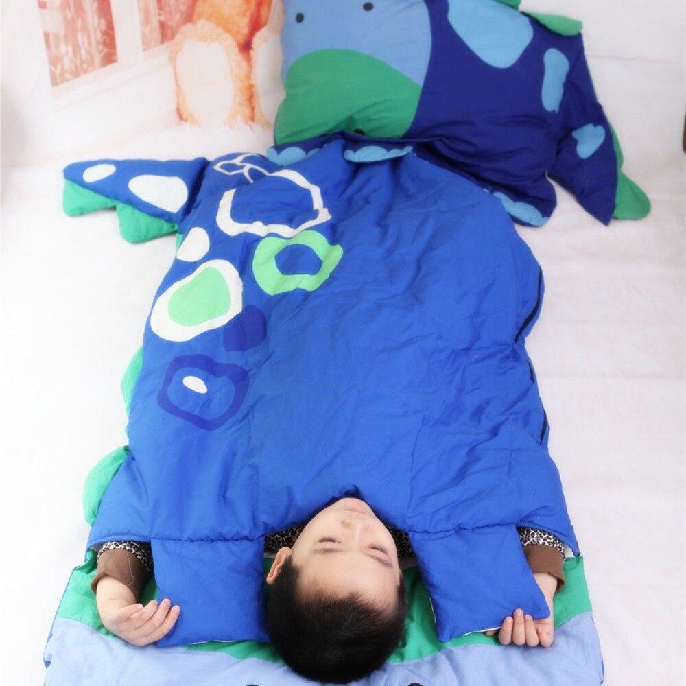 Спальные мешки постельные принадлежности для маленьких детей мешок для малышей Зима мультфильм животных спальный мешок кровать новорождё