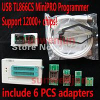 High Speed USB Universal Programmer MiniPro TL866CS Include 6 PCS Adapters Support More Than 12000 Chips