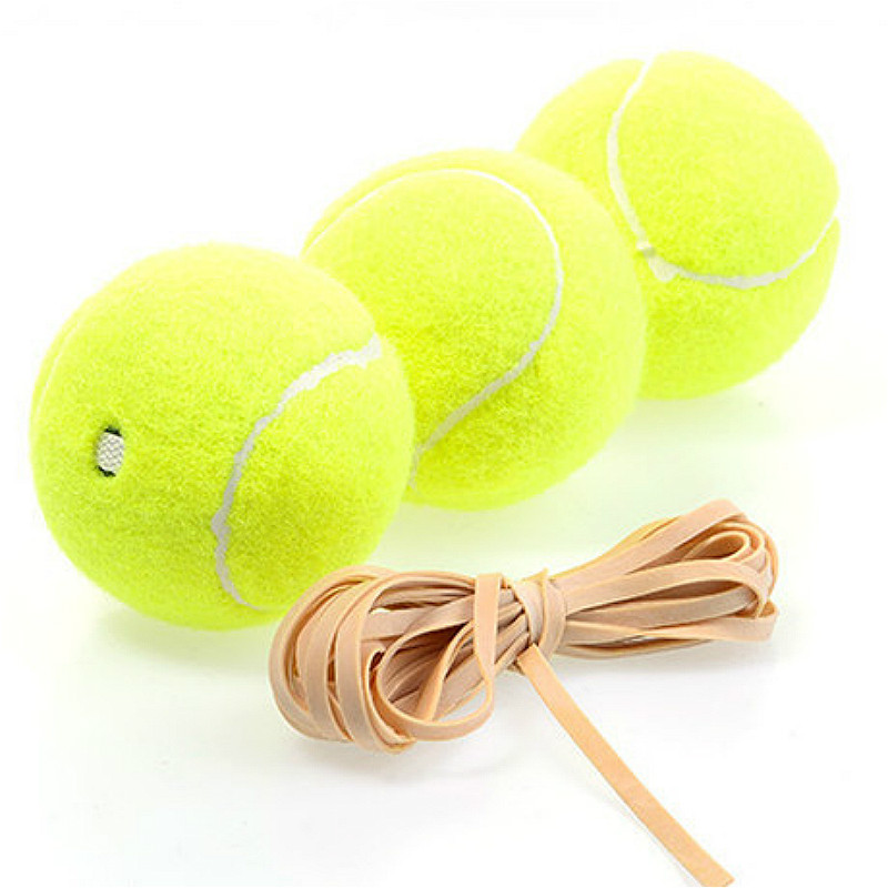 High Elasticity Single Tennis Training With Wire Tennis
