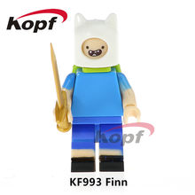 Single Sale Super Heroes The Human Torch Finn Stay Puft Marshmallow Man Bricks Action Building Blocks Children Gift Toys KF993(China)