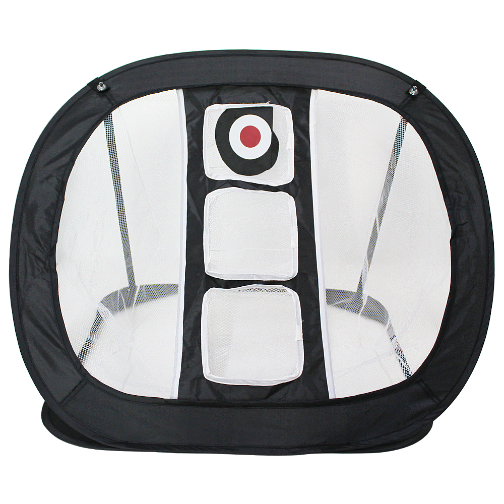 Golf Practice Net Golf Chipping Net Swing Trainer Pop UP Indoor Outdoor Chipping Pitching Cages Mats Portable