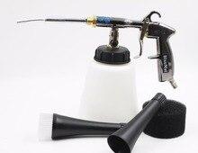 (Z-020) K101high calidad tubo bearring japonés de acero inoxidable de alta presión negro tornador pistola de lavado de coches