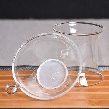 TANGPIN Vetro Resistente Al Calore Tea Filtri Infusore Vetro Accessori Per Il Tè