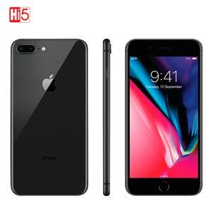 Image 2 - ロック解除アップル iphone 8 プラス携帯電話 64 グラム/256 グラム rom 12.0 mp 指紋 ios 11 4 グラム lte スマートフォン 1080 1080p 4.7 インチ画面