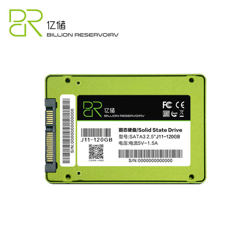 Disco duro interno BR SSD 2,5 '60 gb TLC SATA III para ordenador portátil