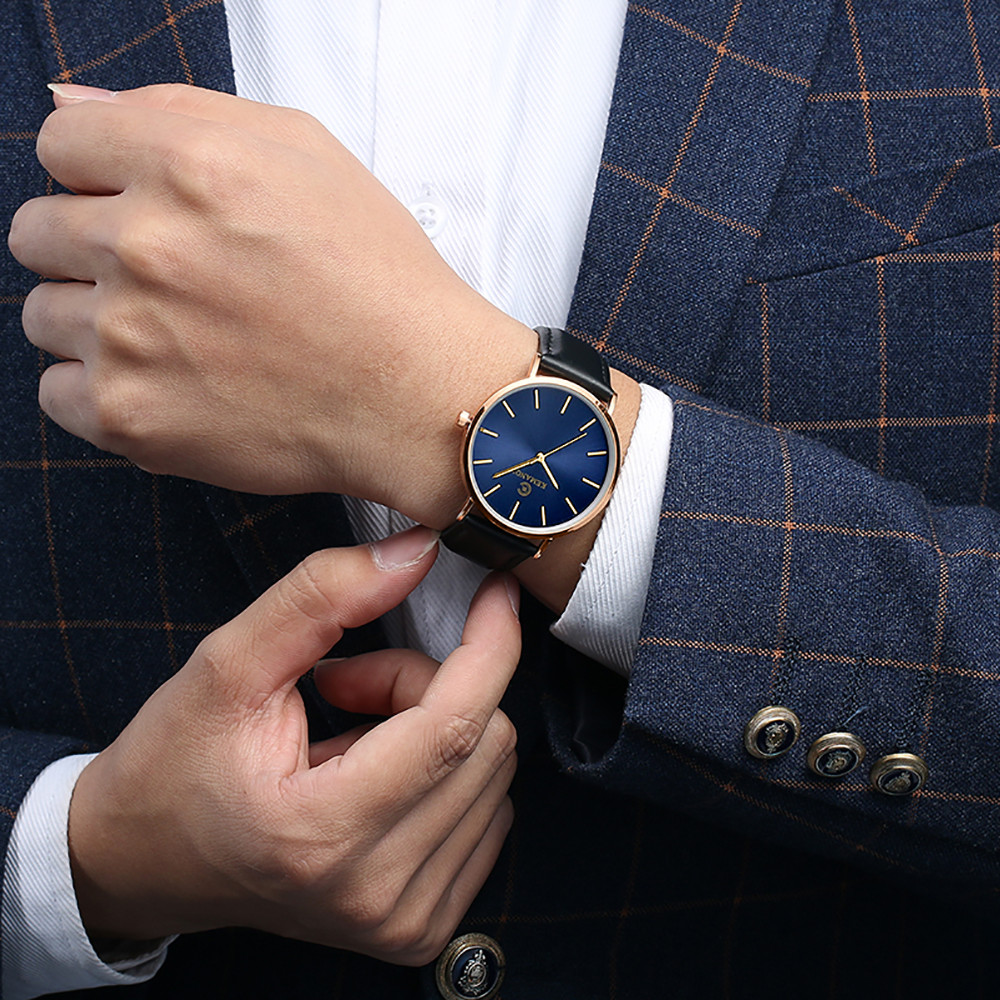 HTB1JIdmLwHqK1RjSZFPq6AwapXa8 Fashion Mens Watches Top Brand Luxury Quartz Watch Men Casual Slim Mesh Steel Waterproof Sport Watch Relogio Masculino