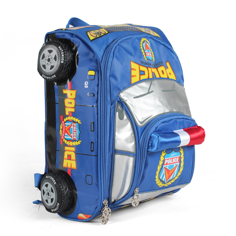 Free shipping specials children car backpack 5 to 8 years old little boy  Lower grade primary school pupil s school bag-in School Bags from Luggage    Bags on ... 308c246a0b46