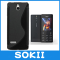 For Nokia 515 Wave S Line Gel Skin Case Cover,Matte Soft TPU Gel S-Line Elegant Case For Nokia 515 cases