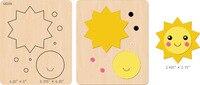 Nowe karty Słońce Drewniane die Scrapbooking D-57 Wykrojniki