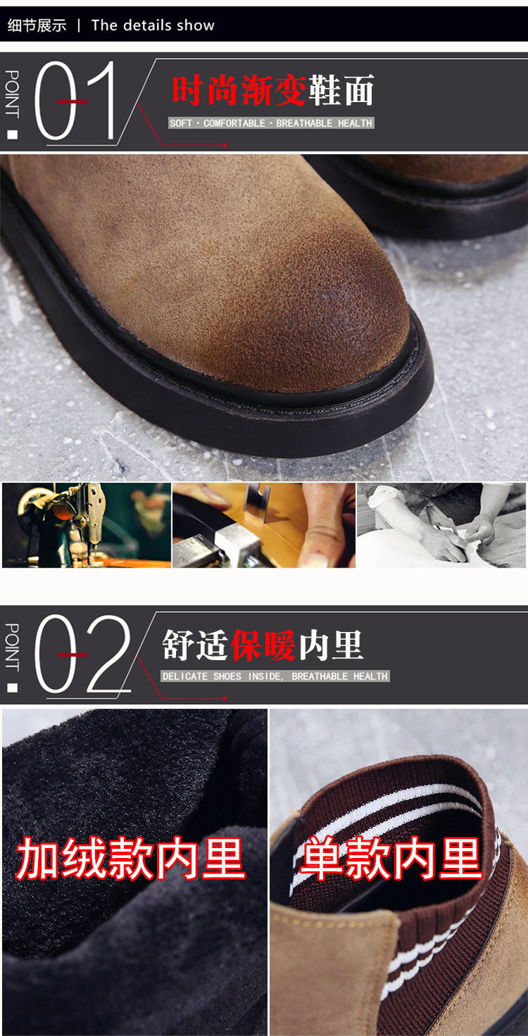 The new autumn 2018 Martin boots flat short tube with restoring ancient ways round head women's boots 41