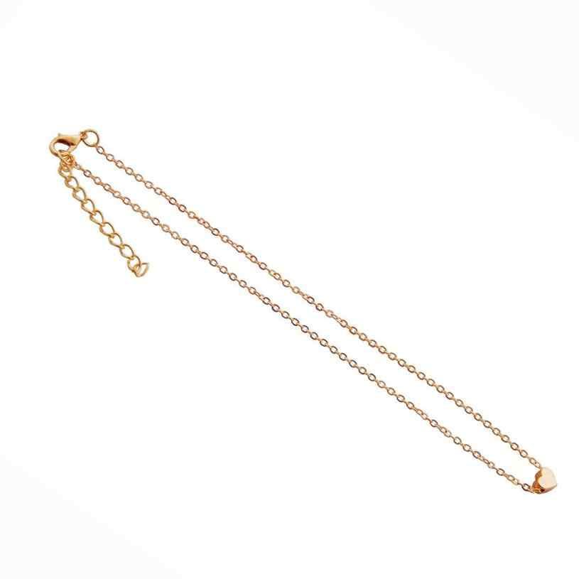 Hot Sale Goldplated Kristal Hati Kalung untuk Wanita Romantis Fashion Klasik Mewah Rhinestones Hadiah Rantai Kalung
