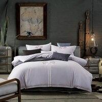 2018 100% хлопок постельное белье Постельное белье Queen King Size постельное белье супер мягкий Стёганое одеяло крышка Роскошные bedlines 4 шт.