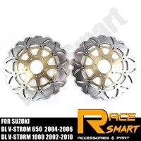Мотоциклетные передние тормозные диски тормозные роторы для SUZUKI DL V STROM 650 2004 2005 2006 DLV STROM650 DLV STROM 650 1000 02 10