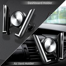 Автомобильный держатель для Телефона Колыбель Автомобильный кронштейн для телефона с вентиляционными отверстиями Автомобильный Кронштейн Поддержка для samsung S8 S9 iPhone X 8 7 HUAWEI